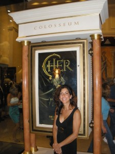 Yes, I really went to see Cher. It was a vacation!
