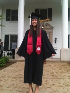 College grad at last!